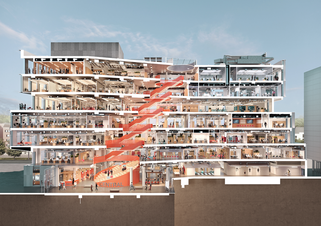 Hawkins / Brown and Wigwam Architectural Visualisation